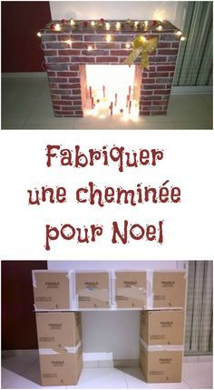icu ~ How To DIY A Christmas Fireplace From Cardboards Fake Fireplace, Christmas Fireplace, Christmas Room, Christmas Crafts, Noel Christmas, Deco Table Noel, Cardboard Fireplace, Diy Room Decor, Home Decor