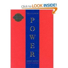 48 Laws of Power by Robert Greene <-- from previous pinner