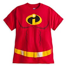 Mr. Incredible Costume Tee for Men (For Jeff~My Hubby!)