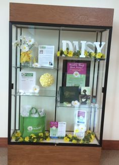DAISY display case Sentara RMH Medical Center