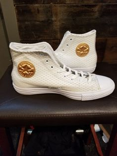 2a79f208d1fe Converse Chuck Taylor CT Hi White Gold 10 Men 12 Womens  fashion  clothing   shoes  accessories  unisexclothingshoesaccs  unisexadultshoes (ebay link)