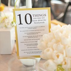 Inspirational Details: Table Numbers :  wedding decor germany rapid city seating 0429 2 -0429-2