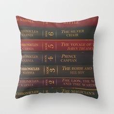 A Narnia Journey Throw Pillow