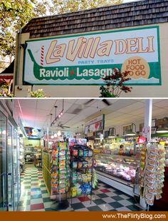 Bertucelli's La Villa Gourmet Italian Delicatessen | Lincoln Ave | Willow Glen | San Jose | California