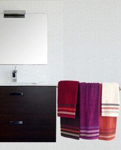 6010 Greca Cenefa Towel, Bathroom Towels