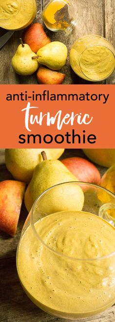 Each ingredient in this smoothie was specifically chosen to fight chronic inflammation. Drink to your health!