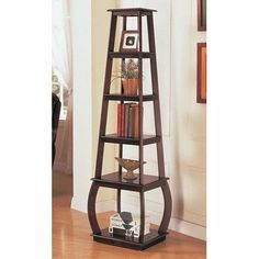 Wildon Home 800234 Scio Bookshelf in Cappuccino by Coaster Home Furnishings. $131.98. 800234 Features: -Scio Bookshelf.-Five shelves in varying sizes. Color/Finish: -Cappuccino finish. Dimensions: -Overall Dimensions: 67'' H x 19'' W x 16'' D.