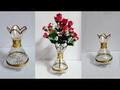 3 Most Amazing Ways To Reuse Plastic Bottles That Will Stupify You - Crafts Zen Reuse Plastic Bottles, Plastic Bottle Crafts, Diy Bottle, Bottle Art, Plastic Vase, Sand Crafts, Diy Home Crafts, Arts And Crafts, Flower Vases