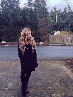 "Beautiful long hair using the ""dirty blonde"" Bellami hair extensions"