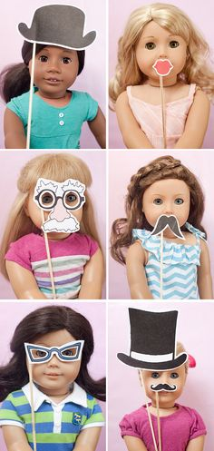 photo booth for dolls how cute!!