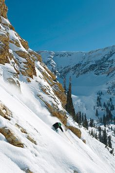 While the masses pile into Mineral Basin, consider the lesser-traveled steeps and glades of Gad Valley.