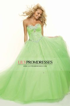2014 Special Occasion Dresses Sweetheart Sleeveless Tulle Lace Up Back With Rhinestone US$ 209.99 LilyPMG557SE - lilypromdresses.com
