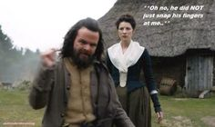 012 Angus Snaps at Claire Outlander Funny, Outlander Season 1, Outlander Tv, Outlander Book Series, Outlander Casting, Jamie And Claire, Diana Gabaldon, Book Tv, Books
