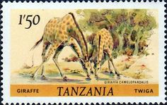 Tanzania 1980 Wildlife Impala Fine Used SG 313 Scott 167 Other Tanzania Stamps HERE