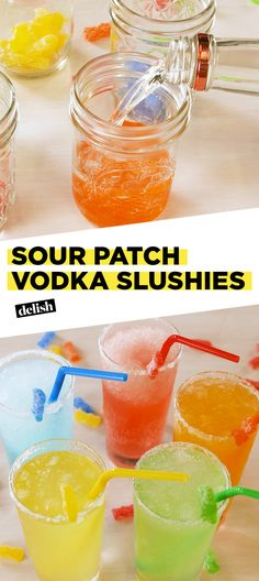 Candy Alcohol Drinks, Easy Alcoholic Drinks, Kid Drinks, Alcohol Drink Recipes, Vodka Drinks, Summer Drinks, Vodka Martini, Beverages, Vodka Mixed Drinks