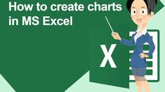 How to create charts in MS Excel : Office Training