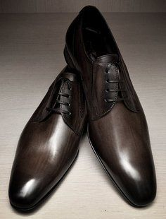 Doucal's Burnished Lace Ups