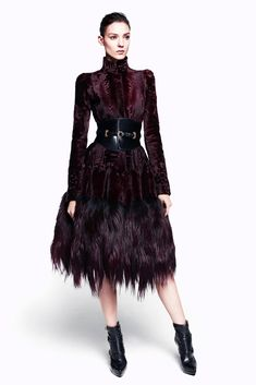Alexander McQueen Pre-Fall 2012.  One of my favorite seasons.  I've pinned a ton of it already, but this one escaped my eye last time.