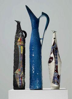Fantoni tall modernist ptichers