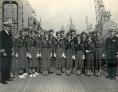 """Girl Scouts at 100: Still 'courageous and strong' - The Orange County Register.  """"I began my Girl Scouting career in the second grade as a Brownie, and went all the way through high school were I was a Mariner Scout.  Specializing in water-related activities.  I learned leadership skills as well as working and living together as a group."""" Anna L. Piercy, Anaheim Union High School District, pictured with her Mariner Scout Troop, the MS Toledo, on board the USS Toledo."""