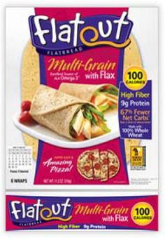 The Dietitian's Top Pick: Flatout® Multi-Grain with Flax Flat Bread + GIVEAWAY!