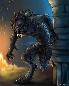 Van Helsing Werewolf by =sugarpoultry on deviantART