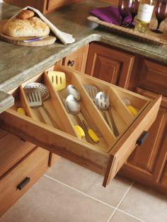 Küche Schubladeneinteilung   Organisieren Sie Ihre Küchenausstattung! |  Ordnung | Pinterest