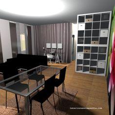 Interiores e Companhia: #sala #homeoffice