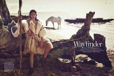 Amanda Wellsh by Will Davidson for Vogue Australia July 2014