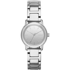 DKNY Women's NY2180 'Tompkins' Silvertone Watch - Overstock™ Shopping - Big Discounts on DKNY DKNY Women's Watches