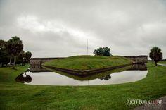 Fort Pulaski after the rain • Rich Burkhart