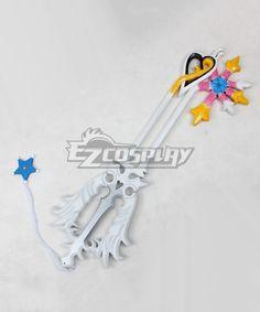 Cafiona Kingdom Hearts II Sora Roxas Key Blade Prop Cosplay Accessory Halloween