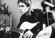 KURT COBAIN! Guys with guitars :)
