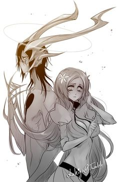 Bleach// Orihime and Ulquiorra