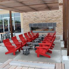Fireside Lounging With Loll Designs Lollygagger Lounge Chairs And Side  Tables At The Tanger Outlet Mall
