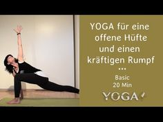 YOGASEQUENZ LYN YOGA #3 Hüfte und Rumpf - 20 min Yoga, 20 Min, Home Decor, Homemade Home Decor, Yoga Tips, Decoration Home, Yoga Sayings, Interior Decorating