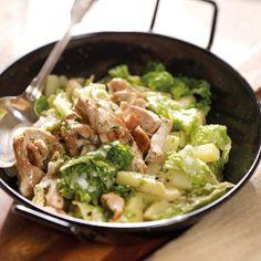 Puten-Wirsing-Pfanne mit Kartoffeln Rezepte | Weight Watchers