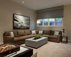 Wall Color w/ brown couch