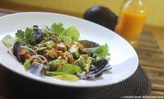 Avec le beau temps, une bonne assiette fraîcheur en entrée ou en plat principal. #vegan #diabete