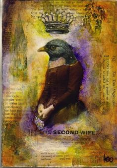 Second Wife by Keo'brien, mixed media