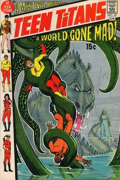 Teen Titans (#32) - cover by Nick Cardy