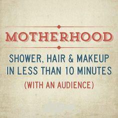 Motherhood.....