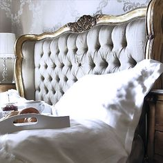 Breakfast in bed French style