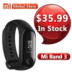 "2018 New Xiaomi Mi Band 3 Smart Wrist Band Bracelet Fitness Tracker 0.78"" OLED Touch Screen 50M Waterproof Miband 3 Smart Watch  Price: 23.76 & FREE Shipping #computers #shopping #electronics #home #garden #LED #mobiles #rc #security #toys #bargain #coolstuff 