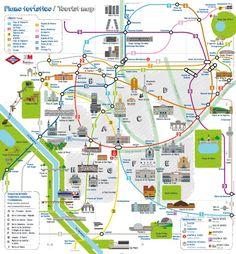 II, 7 - El nuevo plano turístico del metro de Madrid.