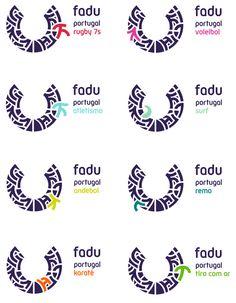 Federação Académica do Desporto Universitário new identity by Gen Design Studio. http://goo.gl/AJW9m