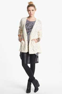 Cream Sweater by Free People 'The Fable'
