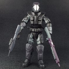 "Halo 2 Series 4 ODST 7"" Action Figure Joyride 2005 #JoyrideStudios"
