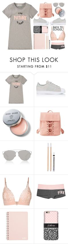 """""""Go Back To School Shopping"""" by emcf3548 ❤ liked on Polyvore featuring Être Cécile, adidas, Bobbi Brown Cosmetics, Charlotte Russe, Christian Dior, House Doctor, La Perla, Victoria's Secret, Samsung and BackToSchool"""