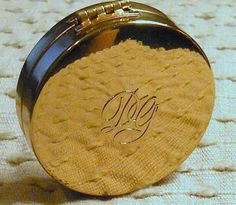 Rough Compact Vintage Dorothy Gray Gold Tone by RosePetalResources, $22.00